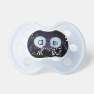 Pacifiers for babyboys on the dark side