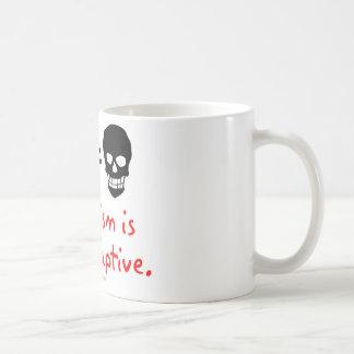 Pacifism is maladaptive classic white coffee mug