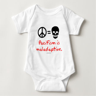 Pacifism is maladaptive infant creeper