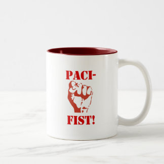 PACIFIST COFFEE CUP