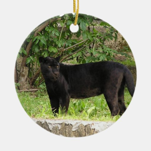 Pacing Panther Ornament