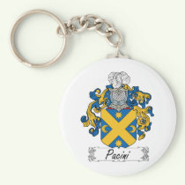 Pacini Family Crest Keychain