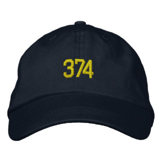 Pack 374 embroidered hats