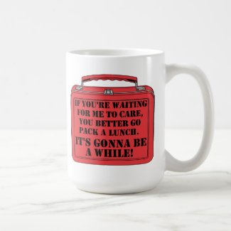 Pack A Lunch Funny Mug