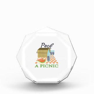 Pack A Picnic Acrylic Award