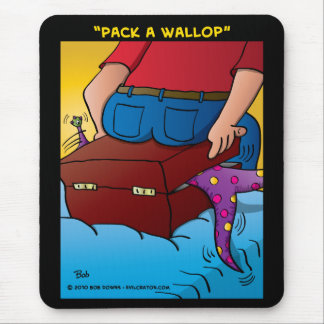 """""""Pack A Wallop"""" Mouse Pad"""