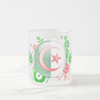pack Algeria 10 Oz Frosted Glass Coffee Mug