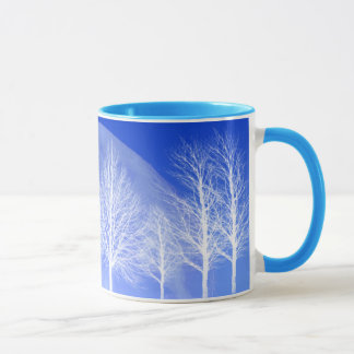 Pack Arbres and the moon Mug