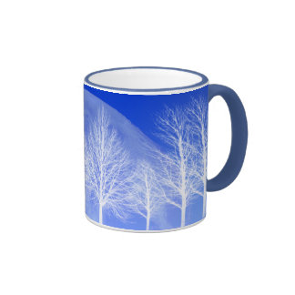 Pack Arbres and the moon Ringer Mug