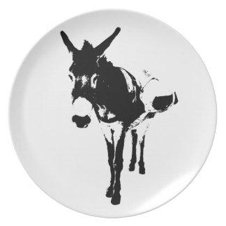 Pack Burro Dinner Plate