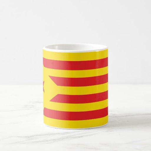 "Pack Catalan Drapeau ""Serenya "" Classic White Coffee Mug"