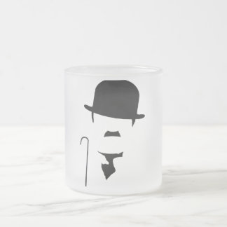 Pack Charlie C 10 Oz Frosted Glass Coffee Mug