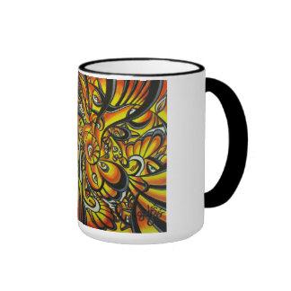 Pack desing Guiñés.d Ringer Coffee Mug