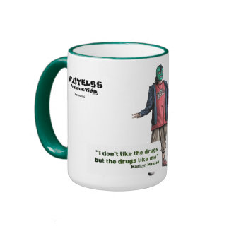 "Pack Fatty Green ""Alex "" Ringer Coffee Mug"