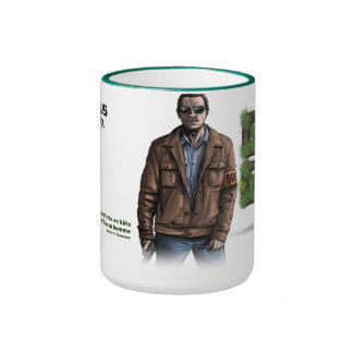 "Pack Fatty Green ""Insp Grégory "" Ringer Coffee Mug"