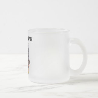 Pack frosted vis-a-vis Bertha 10 Oz Frosted Glass Coffee Mug