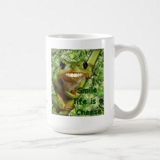 Pack Grenouille Classic White Coffee Mug
