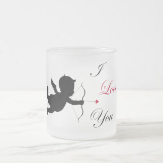Pack I coils You 10 Oz Frosted Glass Coffee Mug