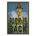 """Pack is Back 24""""x36"""" Poster"""