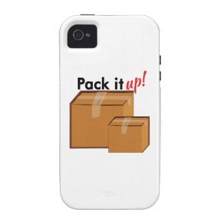 Pack It Up iPhone 4/4S Covers