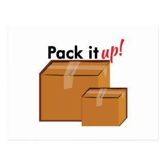 Pack It Up Postcard