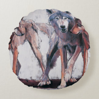 Pack Leaders 2001 Round Pillow