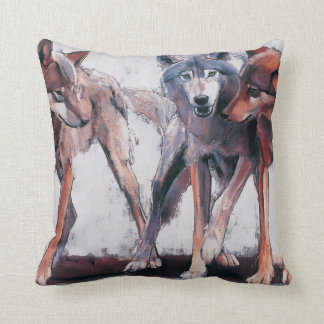 Pack Leaders 2001 Throw Pillow