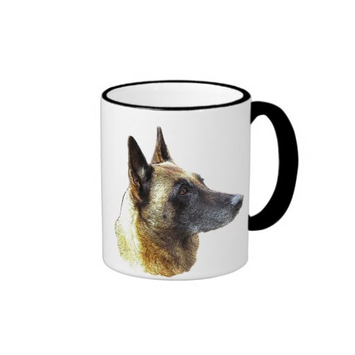 pack malinois ringer mug