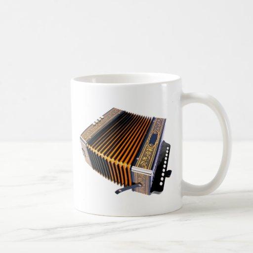 Pack music classic white coffee mug
