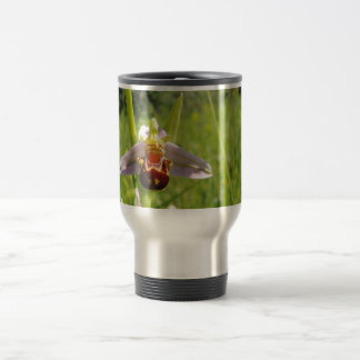 """Pack of voyage """"Orchis """" Travel Mug"""