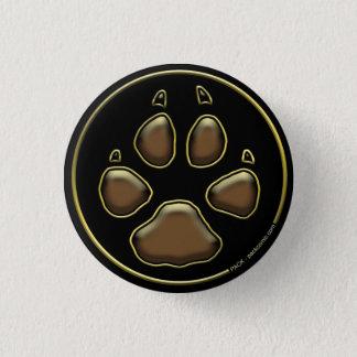 PACK - Pawprint Crest Pinback Button