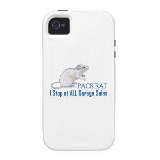 PACK RAT iPhone 4 CASE