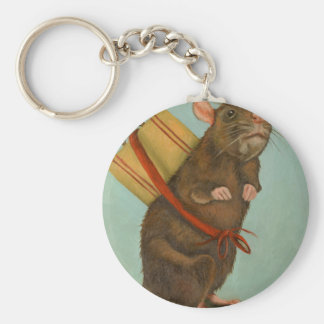 Pack Rat Keychain