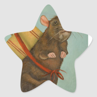 Pack Rat Star Sticker