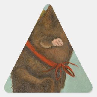 Pack Rat Triangle Sticker