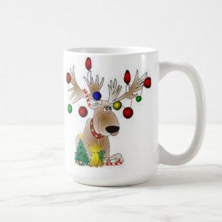 Pack reindeers coffee mug