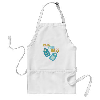Pack Your Bags Adult Apron