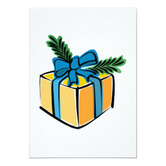 Package 5x7 Paper Invitation Card