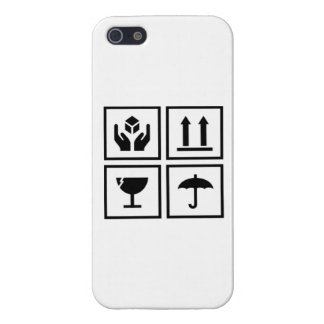 Package Label iPhone 5 Cases
