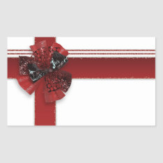 Package Loops Motive Rectangular Sticker at Zazzle