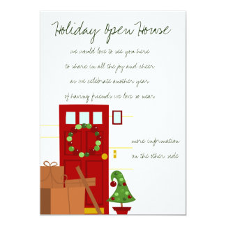Packages at the Door 5x7 Paper Invitation Card