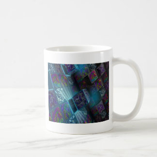 packages full of colorful pulses coffee mugs