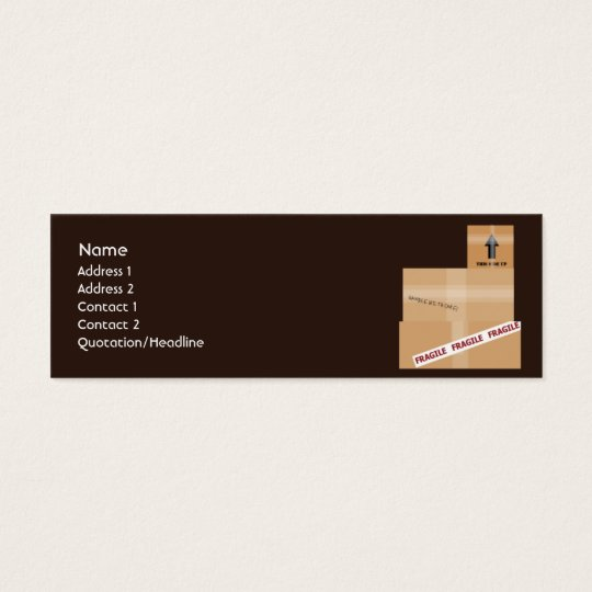 Packages - Skinny Mini Business Card