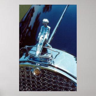 Packard Adonis radiator ornament Poster