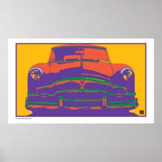 Packard-Impresión psicodélica Poster