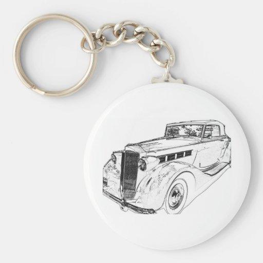 Packard Key Chain