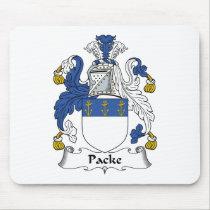 Packe Family Crest Mousepad