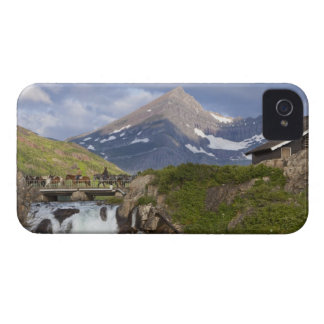 Packers lead string of horses over bridge above iPhone 4 Case-Mate case