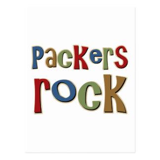 Packers Rock Postcard