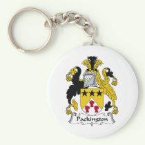 Packington Family Crest Keychain